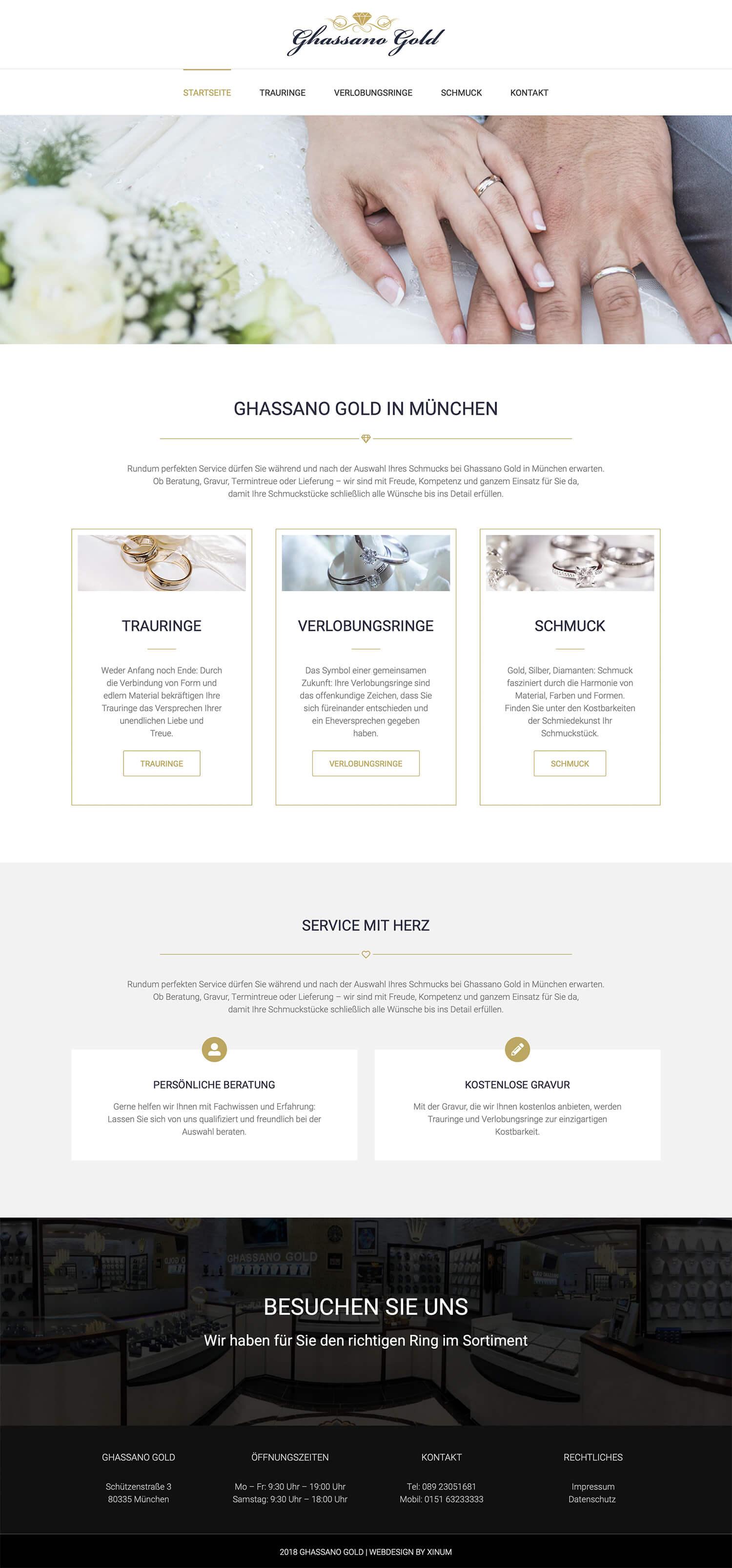 Website Ghassano Gold