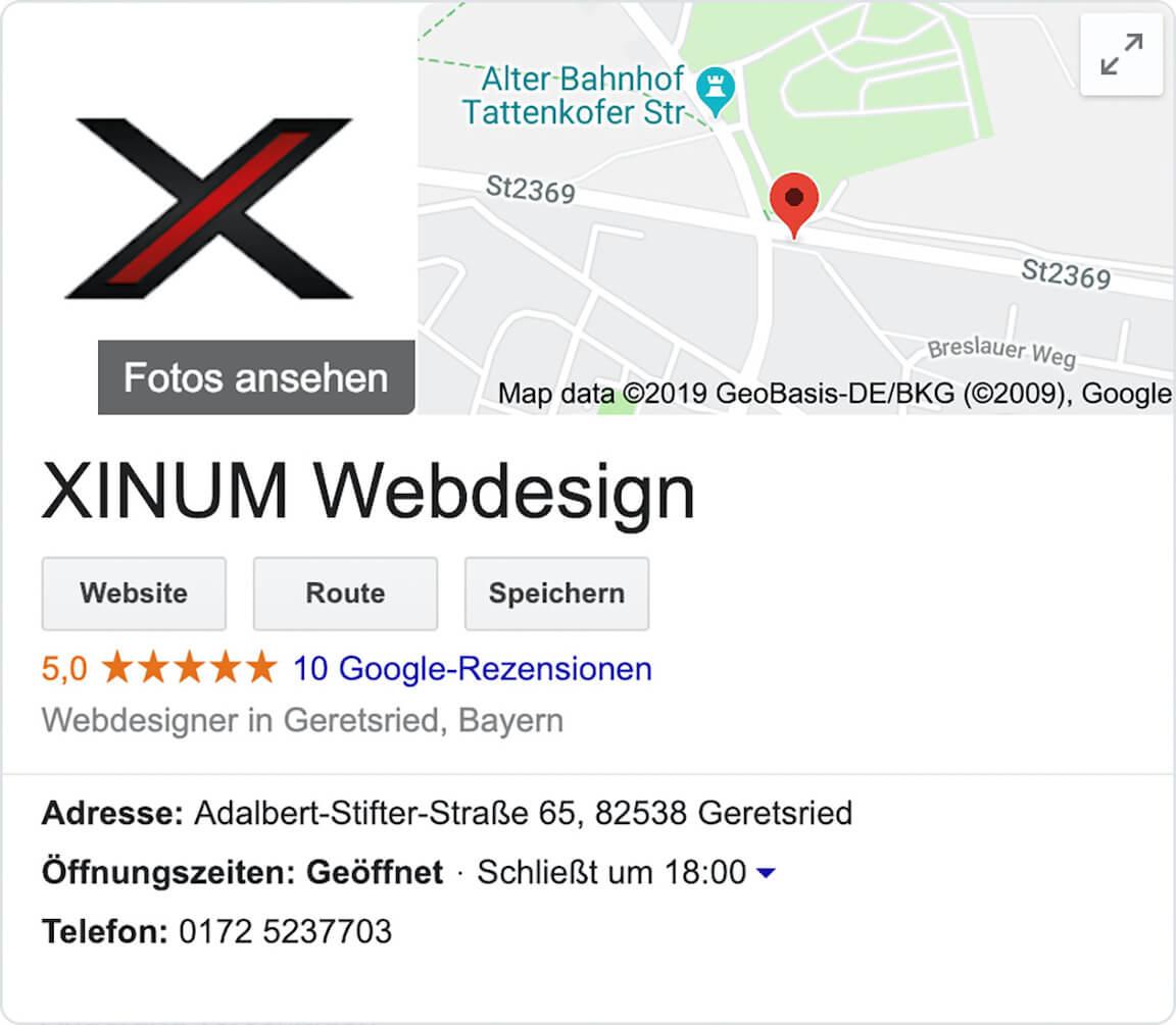 SEO Geretsried - Google My Business