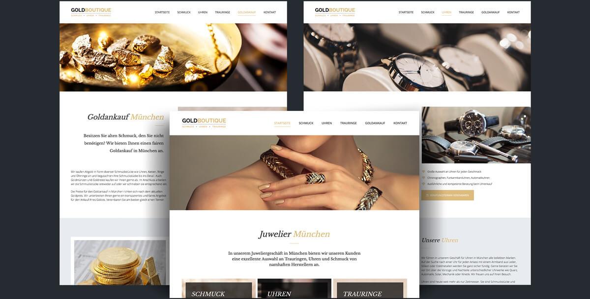 Website Goldboutique