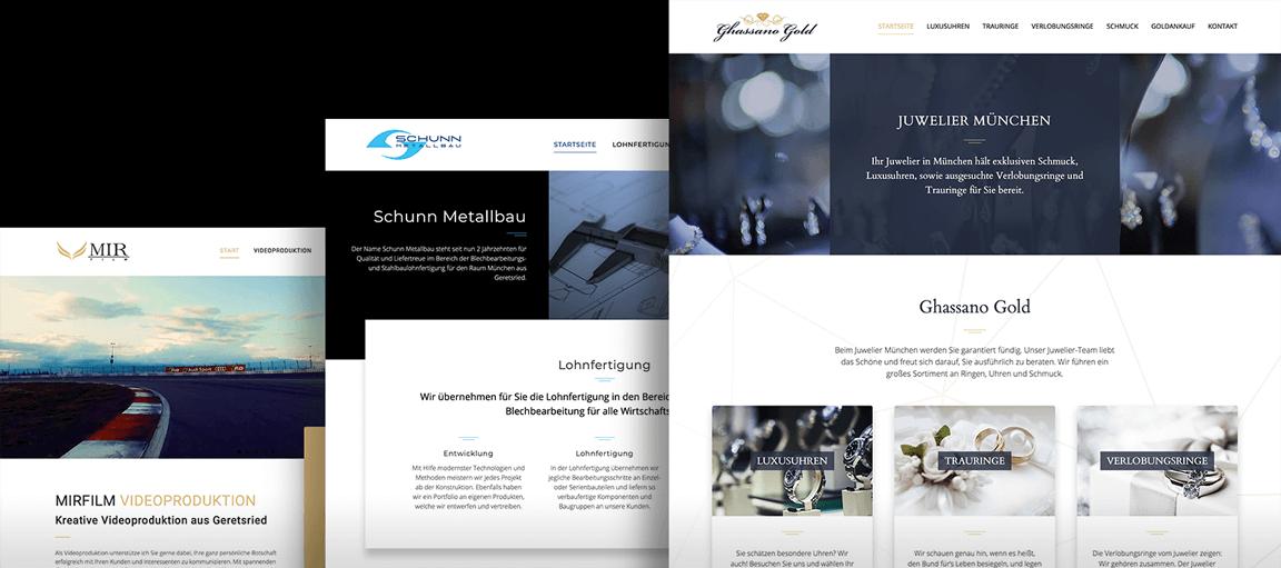 Webdesign Wolfratshausen